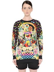 Mary Katrantzou Oversized Floral Jacquard Sweater