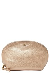 Fossil Leather Cosmetics Bag