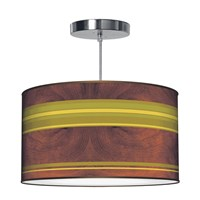 Jefdesigns Horizontal Stripey Pendant Jd_Stripey_Horiz_1_ Horizontal Stripey 1 Pattern Thao16 16 In Diameter Brown