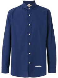 Dnl Casual Long Sleeved Shirt Blue