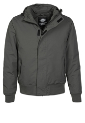 Dickies Cornwell Winter Jacket Charcoal Grey Dark Gray