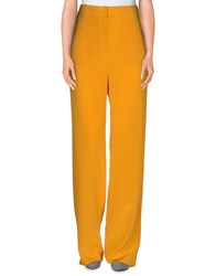 Stefanel Trousers Casual Trousers Women Ocher