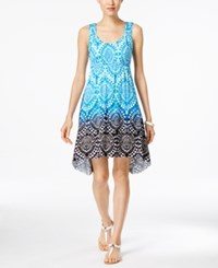 Styleandco. Style And Co. Sleeveless Printed Dress Only At Macy's Moroccan Song