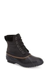 Men's Sorel'cheyanne' Snow Boot Black Dark Brown