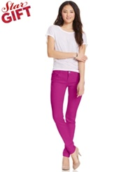 Celebrity Pink Jeans Juniors' Skinny Jeans Berry Berry