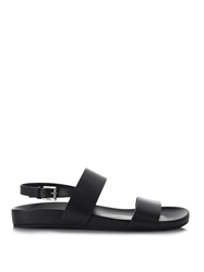 Gucci Buckle Fastening Leather Sandals