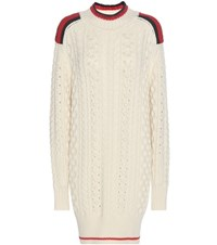 Isabel Marant Knitted Wool Sweater White