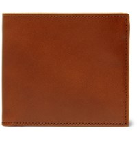 Maison Martin Margiela Leather Billfold Wallet Brown