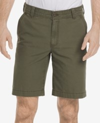 G.H. Bass And Co. Men's Terrain 10 Canvas Shorts Olive Night