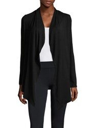 Marc New York Plus Open Front Cardigan Black
