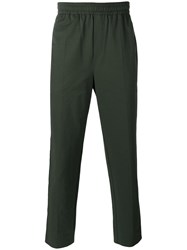 Wood Wood Tailored Trousers Men Cotton Polyester Xl Green