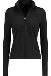 Yummie Tummie By Heather Thomson Irena Stretch Jersey Jacket Black