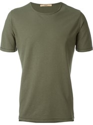 Nuur Slim Fit T Shirt Green
