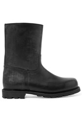 Ludwig Reiter Arlbergerin Shearling Lined Leather Boots Black