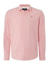 Duck And Cover Quest Long Sleeve Shirt Red