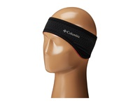 Columbia Trail Flash Headband Black Laser Red Interior Cold Weather Hats