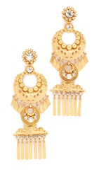 Elizabeth Cole Kalua Earrings Golden