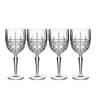 Waterford Marquis Brady White Wine Glasses Set Of 4