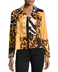 Berek Wild Kingdom Jewel Embellished Jacket Multi