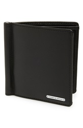 Porsche Design 'Cl2 2.0' Money Clip Card Holder Black