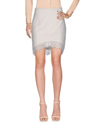 Just For You Skirts Knee Length Skirts Ivory
