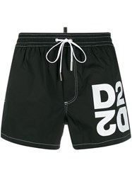 Dsquared2 Logo Drawstring Swim Shorts 60