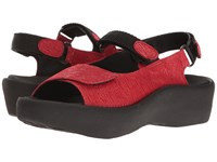 Wolky Jewel Red Women's Sandals