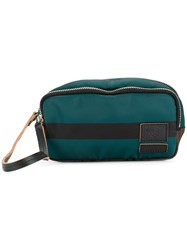Marni Classic Zipped Clutch Calf Leather Nylon