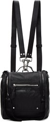 Mcq By Alexander Mcqueen Black Mini Convertible Backpack