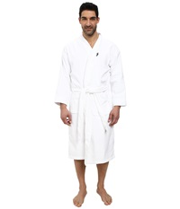 Jockey Terry Velour Solid Robe White Men's Robe