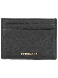 Burberry House Check Cardholder Black