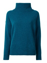 Loveless Turtleneck Jumper Green
