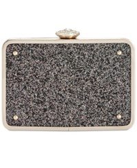 Inc International Concepts Black Glitter Clutch Only At Macy's