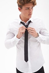Forever 21 Classic Woven Neck Tie