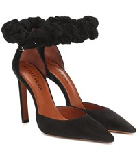 Altuzarra George Suede Pumps Black