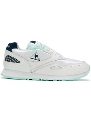 Le Coq Sportif Panelled Sneakers White