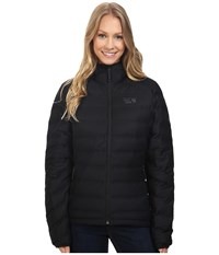 Mountain Hardwear Stretchdown Hooded Jacket Black Women's Coat