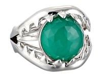 Stephen Webster Les Dents De La Mer Crystal Haze Jaw Ring Chrysoprase Crystal Haze Ring Green
