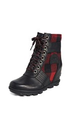 Sorel Lexie Wedge Boots Black