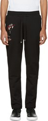 Dolce And Gabbana Black Salsa Cha Cha Cha Lounge Pants