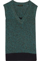 Rag And Bone Carmen Cable Knit Top Midnight Blue