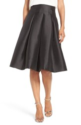 Eliza J Women's Release Pleat Full Skirt Black