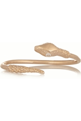 Jennifer Fisher Snake Rose Gold Plated Cubic Zirconia Cuff