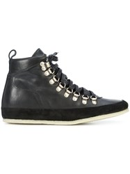 Valas Hiking Boots Leather Suede Rubber Black
