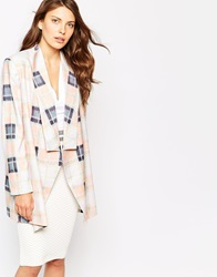 Finders Keepers Get Away Blazer Tartancreampuff