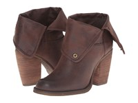 Sbicca Chord Brown Pull On Boots