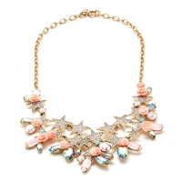J.Crew Flower Power Statement Necklace Dusty Blossom