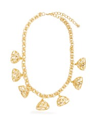 Emilia Wickstead Frankie Gold Plated Necklace