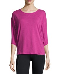 Marc New York Dolman 3 4 Sleeve Performance Top Mulbrry Ht