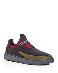 Creative Recreation Men's Castucci Mixed Media Lace Up Sneakers Navy Smoke